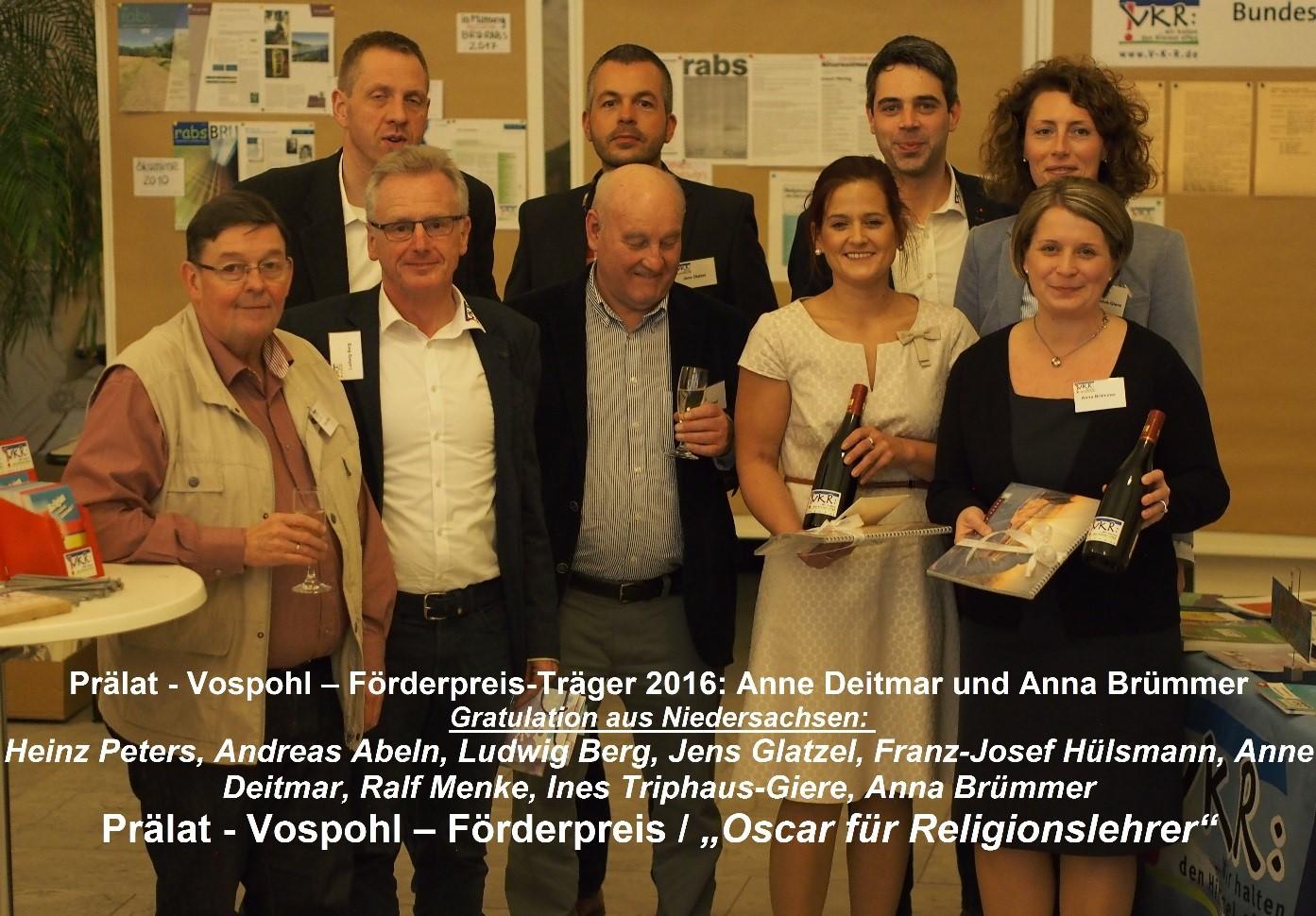Prälat-Vospohl-Förderpreis 2016